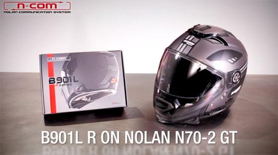 Nolan N70.2GT Nolan NCOM B901LR -